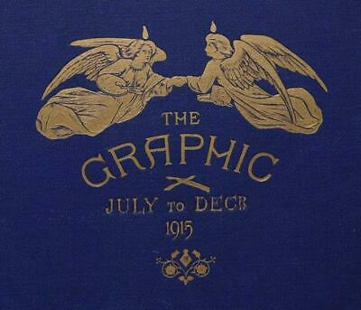 THE GRAPHIC Illustrated Newspaper 1915 WWI Trench Serbian Ally Morrell Maps
