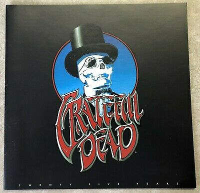 25Th Anniversary Greatful Dead Tour Concert 22 Pages Full Colour