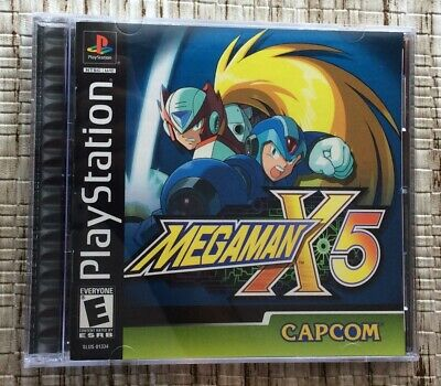MEGA MAN X4, X5, X6 Black Label Bundle PlayStation 1 PS1