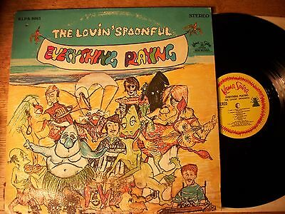 THE LOVIN SPOONFUL Everything Playing LP 1967 Kama Sutra EX
