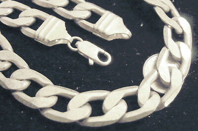 bling silver plated 12mm figaro hip hop rapper fashion chain necklace jewelry ep