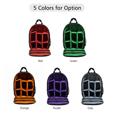 Large Outdoor Waterproof Camera Backpack DSLR Bag Case For Canon Nikon Sony Lens
