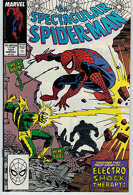 Spectacular Spider-Man 157 NM Electro Sal Buscema cover, art