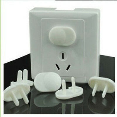 10x Safety Anti-power Socket Outlet Point Plug Proof Protective Kid Cover CN