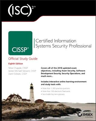 [PƉF] CISSP Certified Information Systems Security Professional Study Guide 8th