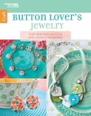 Leisure Arts Button Lover's Jewelry