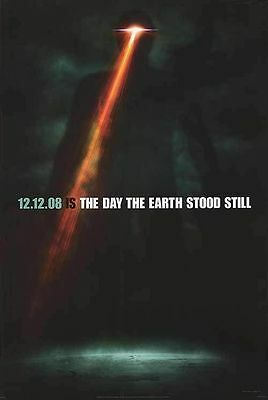 The Day the Earth Stood Still Original D/S Movie Poster 27 x 40 Keanu Reeves NEW