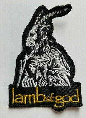 Lamb of God  Goat   EMBROIDERED PATCH