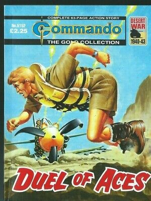 Duel Of Aces,commando The Gold Collection,no.5152,war Comic,2018
