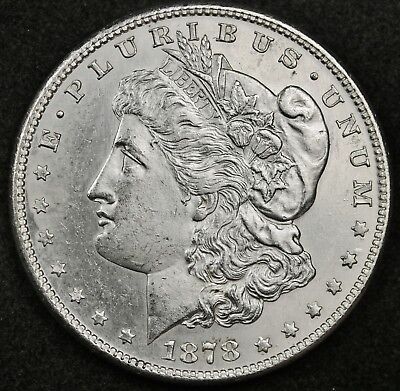 1878-s Morgan Silver Dollar.  Semi-Proof Like.  Original B.U.  126725