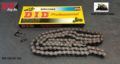 Chaine Moto Did 530 Nz 120 Maillons Renforcees