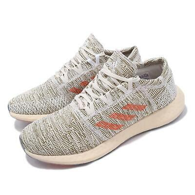 6e9ad6975c7f2 adidas Pureboost Go LTD Raw White Orange Trace Cargo Men Running Shoes  D97424