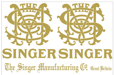 Singer Model 29 Class Long Arm Sewing Machine Restoration Decals 40295