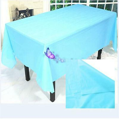 Wedding Birthday Party Tablecover Table Cover Cloth Plastic Tablecloth CP