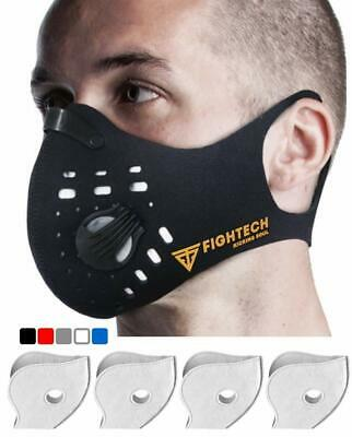 Fightech Dust Mask Respirator Half-Face Mask Carbon N99 Pollution Filter Unisex