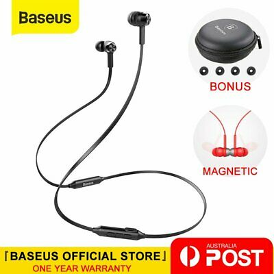 Baseus Wireless Bluetooth Sports Stereo Headphones Earphones Headset with MIC