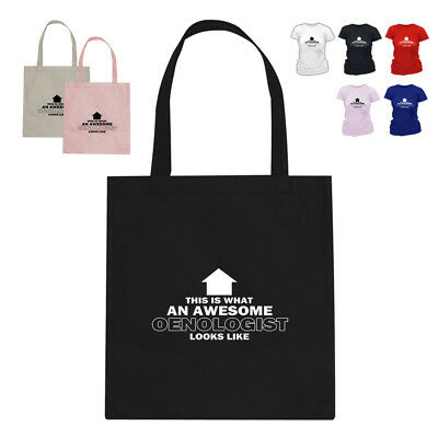 Oenologist Wine DrinkerTote Bag Gift HT Arrow Design