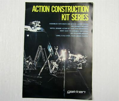 Gakken Action Constrruction Kit Series Konstruktion Bausets Japan