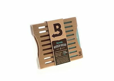Boveda Cedar (2) Pack Holder Includes (2) 62% 60 grm packs  CDN & INT ONLY