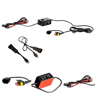 2 Amp Fast Charger Hard Wire Motorcycle Battery Cable for Tomtom Rider v5 4.3