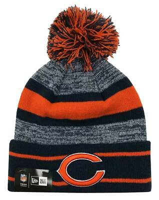 bbe8daa1 NEW ERA NFL Chicago Bears Ugly Sweater Christmas Winter Pom Knit Hat ...