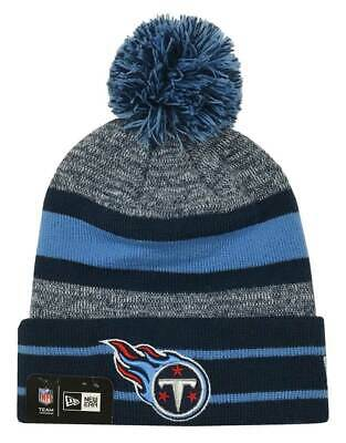 ce0a9589b TENNESSEE TITANS NEW Era White Color Rush On-field Knit Hat / Cap ...