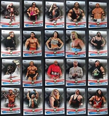 2019 Topps WWE Raw Legends of Raw Wrestling Cards Complete Your Set You Pick