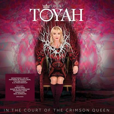 TOYAH IN THE COURT OF THE CRIMSON QUEEN DELUXE 2 CD (Released April 12th 2019)