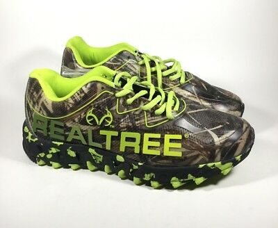 14d83bd54807b M3576L New Men's Realtree Outfitters Panther Camoflauge Hiking Shoe US 8 4E  Wide