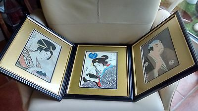 Japanese Woodblock Prints Keisai Eisen