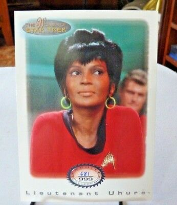 The Women Of Star Trek Lt. Uhura #681 Of 999 Ac15
