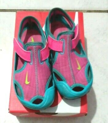 4ac969788 NIKE PINK SUNRAY Protect (TD) Infant Toddler Girls Sports Water ...