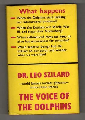 The Voice of the Dolphins and Other Stories by Leo Szilard (1st UK) File Copy