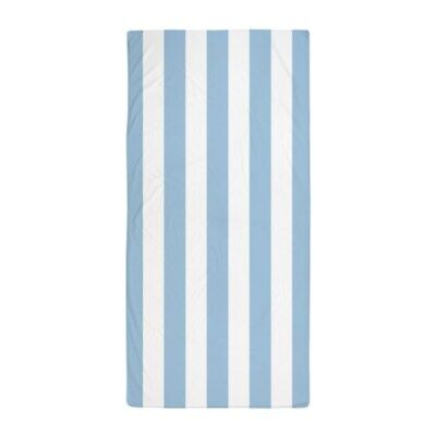 1399723694 CafePress Black And White Vertical Stripes Beach Towel