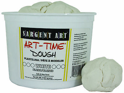 Sargent Art Art-Time Dough - 3 lb - White