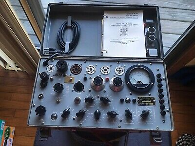 TV-7/U Military Tube Tester Repaired/Calibrated By Dan Nelson 04/2018