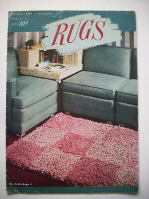 1940's  Rugs for all rooms patterns