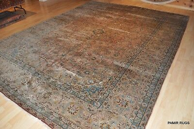 ON SALE BEAUTIFUL Circa 1930's ANTIQUE PERSIAN 10'x13' rug muted colors