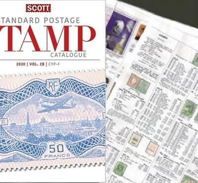 Barbados 2020 Scott Catalogue Pages 189-206