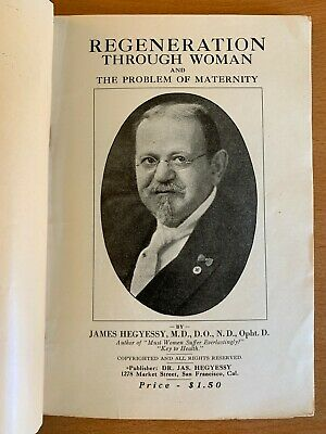 1919 Race Regeneration Through Woman Birth Control Eugenics Sex Quack Medicine