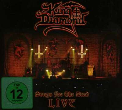 King Diamond - Songs For The Dead Live NEW CD