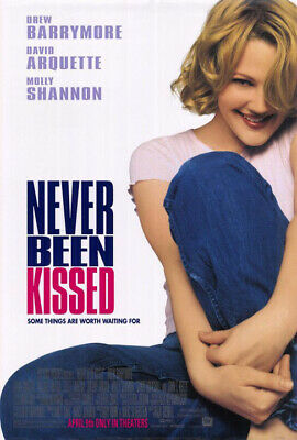 Never Been Kissed (1999) original movie poster - double-sided - rolled