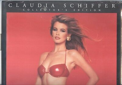 Claudia Schiffer  Official full colour 1997 CALENDAR  POSTFREE UK MINT CONDITION