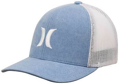 low priced db777 55cf5 Hurley Icon Textures Trucker Hat - Blue Fury - New