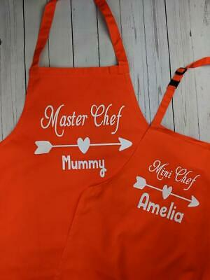Matching Custom Aprons