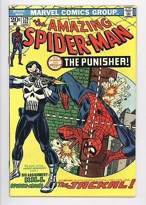 Amazing Spider-Man #129 Vol 1 Near Perfect High Grade 1st App of the Punisher