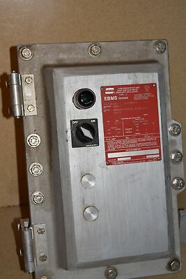 ^^ Crouse Explosion Proof /  Dust Ignition Proof Enclosure W/ Starter