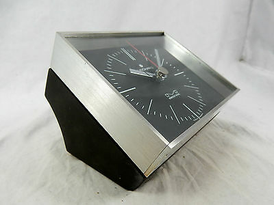 Coole 70´s Design Junghans electronic Tischuhr table clock  working condition