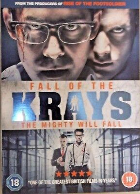 FALL OF THE KRAYS - Kevin Leslie/Simon Cotton -  DVD - c/w slipcase