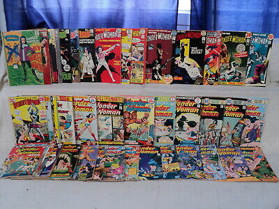 Wonder Woman 178-250 (miss.#182) + Spectacular 1978 SET Nice! DC Comics (s 11104